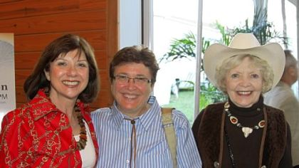 Chair Rona Dane, Dr. Paula Gilchrist and Barbara Norris.