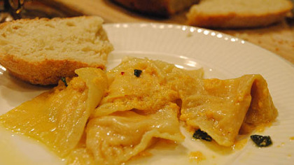 Pumpkin Ravioli