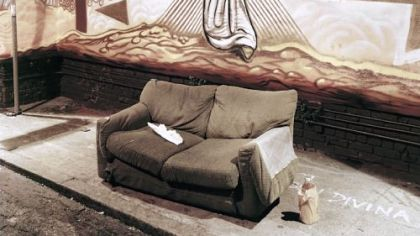 """Couch, San Francisco, 2010,"" by Will Steacy."
