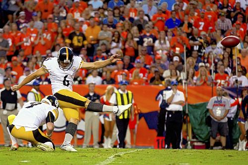 Steelers' Suisham gets his kicks with fast start