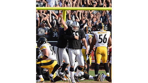 Steelers lose to Raiders, 34-31