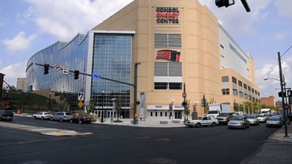 The Consol Energy Center, new home of the Penguins, from Fifth Avenue and Washington Place. When the Penguins hired AEG Facilities to manage the Consol Energy Center last month, they did so with the goal of generating more entertainment on the nights when hockey wasn't being played.