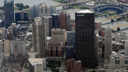In 2008, UPMC moved its headquarters to the U.S. Steel Tower and attached its name to the skyscraper, where it leases multiple floors.