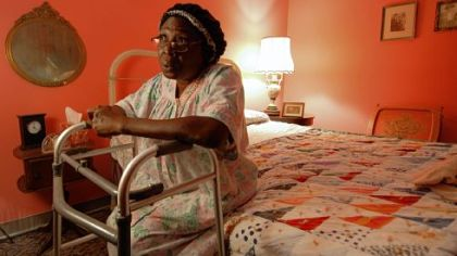 Grandma (Tracey D. Turner) welcomed you like a long-lost relative -- and then begged you to rescue her from her assisted care facility.