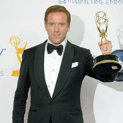 "Damian Lewis won the Emmy for lead actor in a drama for his work in ""Homeland."""