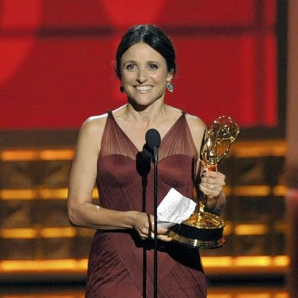 "Julia Louis-Dreyfus -- Best lead actress in a comedy series for ""Veep."""