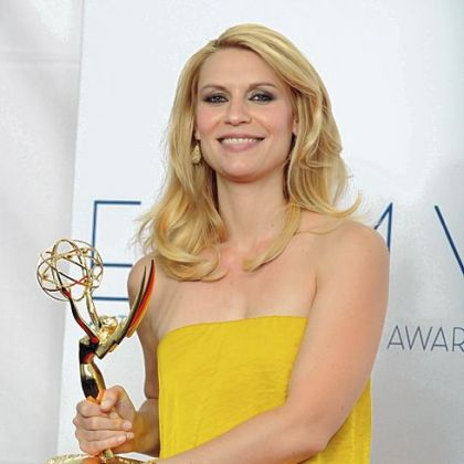"Actress Claire Danes won the Emmy for lead actress in a drama for ""Homeland."" The Showtime series also won Emmy for best actor, best writing and best drama."