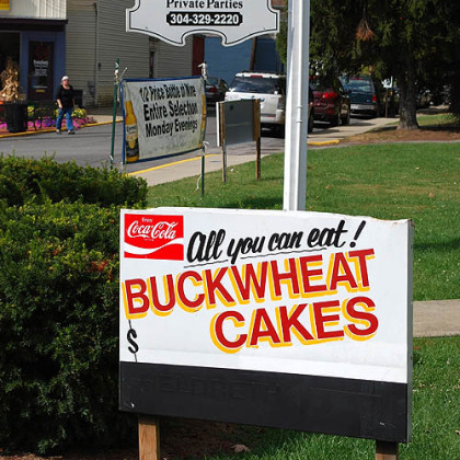The Preston County Buckwheat Festival attracts hundreds of hungry visitors. The 71st annual festival will be held Thursday through next Sunday.