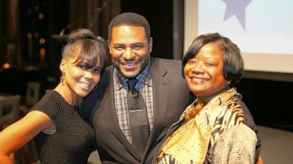 Trameka and Jerome Bettis and Esther Bush.