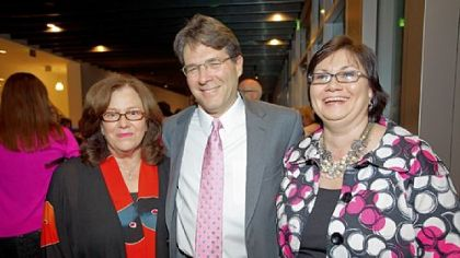 Roberta Brody, Richard Baird Jr. and Linda Mitchell.