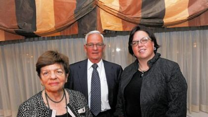 Alice Rivlin, Paul O&#039;Neill and Deborah Acklin.