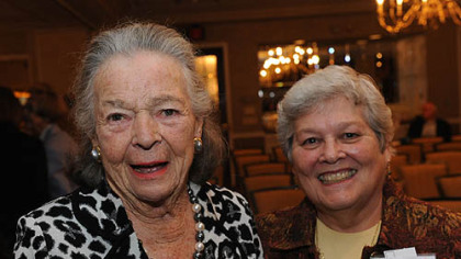 Elsie Hillman and Nancy Naragon.