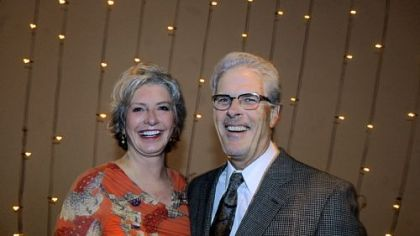 Honorees Cindy and Dr. Bill Swartz.