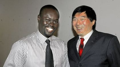 Dr. Enioth Bright and Otto Chu.