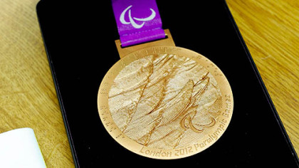 Trevon Jenifer's bronze medal, earned at the 2012 Paralympics in London.