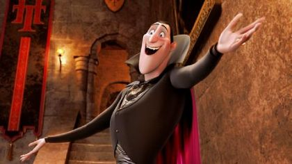 "Adam Sandler provides the voice of Dracula, keeper of ""Hotel Transylvania."""