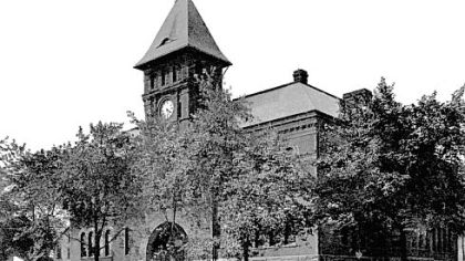 Wilkinsburg's First Ward School, later called Horner School, was destroyed by fire.