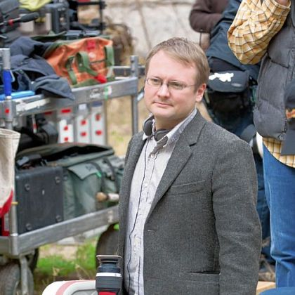 "Writer/director Rian Johnson -- ""Baked into the bones of this movie, for me, is a choice between solving the problems of the world by finding the right people and killing them, versus solving the problems of the world by raising your children."""