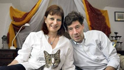 Stefanie Bruninghaus and Vincent Aleven thought they lost Skinny Cat from their Squirrel Hill home three years ago. Recently Skinny Cat was taken to the Western Pennsylvania Humane Society, and the shelter was able to identify her, thanks to a implanted microchip.