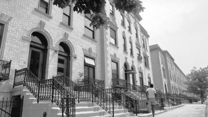 On 139th Street, Strivers Row, erected for the black elite of Harlem, is today more than 50 percent white.