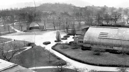 The National Aviary in March 1967.
