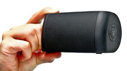 The OontZ Portable Bluetooth Speaker from Cambridge SoundWorks.