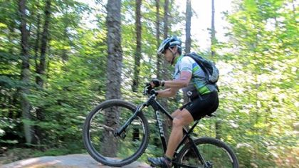 Michael Boyd: music professor -- and mountain biker.