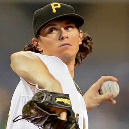 Jeff Locke recorded his first major league win Monday.