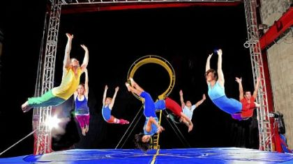 STREB makes an impact with performances that are as much athletic events as they are works of art.