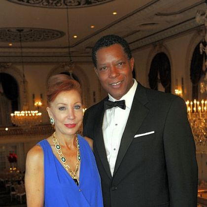 Board chairs Michele Fabrizi and Clyde Jones.