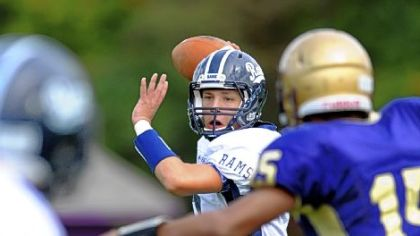 Rochester quarterback Ben Richko has big-play capability, as reflected by his 5 of 6 passing for 167 yards against Western Beaver.
