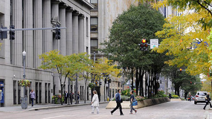 Grant Street has been named one of America's 10 Great Streets for 2012 by the American Planning Association.