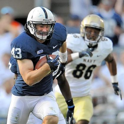 Penn State linebacker Mike Hull is one of the Nittany Lions' role players who coach Bill O'Brien consistently praises.