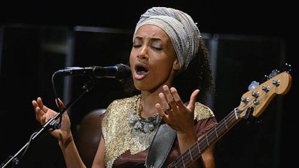 "Esperanza Spalding and her group perform music from the new album ""Radio Music Society,"" which encompasses soul, gospel and swing."