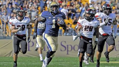 For Ray Graham and the Pitt offense, finding running room against Syracuse last Friday wasn't as easy as the previous game against Gardner-Webb.