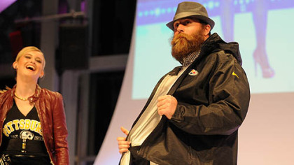 Co-chair Brett Keisel