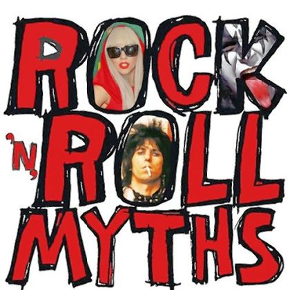 "Cover of Gary Graff's latest book: ""Rock 'n' Roll Myths."""