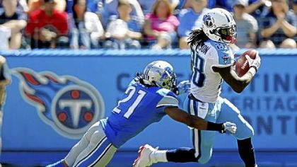 Tennessee Titans running back Chris Johnson.