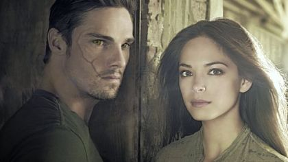 "Jay Ryan is Vincent and Kristin Kreuk is Catherine on ""Beauty and the Beast."""