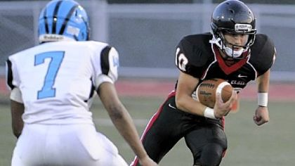 Upper St. Clair quarterback Pete Coughlin (666 passing yards with 10 touchdowns) has not thrown an interception this season.
