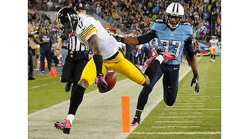 Roethlisberger breaks record as Titans beat Steelers, 26-23