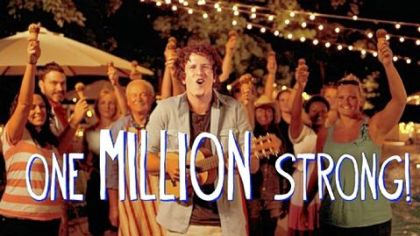 Nestle Drumstick celebrates 1 million Facebook fans with a fun tribute song thanking its community.