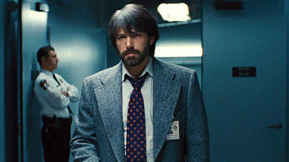 "Ben Affleck directs and stars as CIA operative Tony Mendez in ""Argo,"" based on a true story."