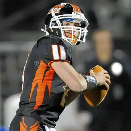 Bethel Park quarterback Levi Metheny looks to pass Friday against Upper St. Clair.