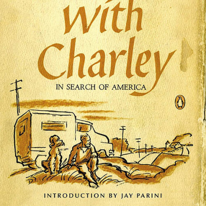 """Travels with Charley"" by John Steinbeck (50th anniversary edition)."