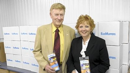 George Carder, COO, and Marilyn Mance, CEO, of MMearTech