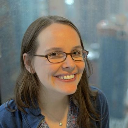 Raina Telgemeier has just published her first fictional long-form comic, &quot;Drama.&quot;