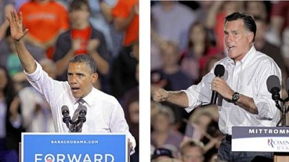 Obama vs. Romney: The Road to the White House.