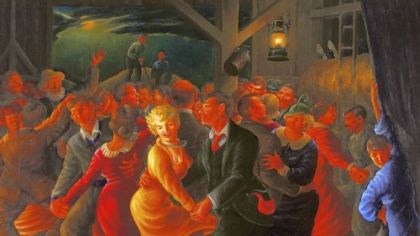 """Barn Dance,"" by Clyde Singer."