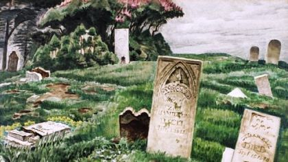 "Charles Burchfield, ""In Memoriam"""